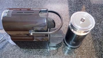 Nespresso and Frother for sale