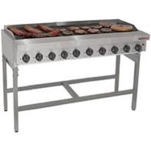 New 10 Burner Gas Grillers for sale. Lp Approved