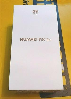 Huawei p30 lite 128gb dual sim brand new sealed in the box
