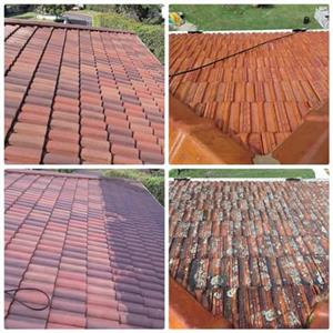 November/December High pressure Cleaning Of Roof and Gutters R750