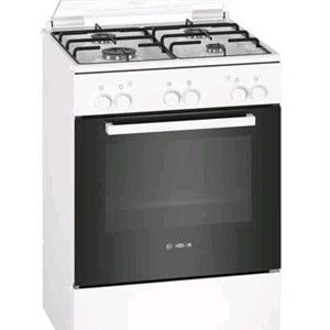 Bosch Serie | 2 Freestanding Gas Cooker White