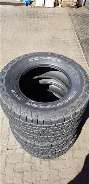 New 265/70/17 Cooper AT3 LT 4x4 Tyres