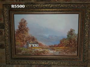 Original Johann Bonthuys Painting (950 x 700)