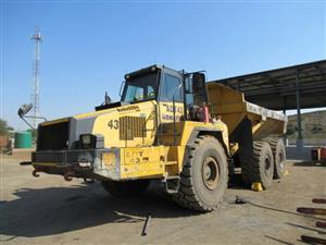 Komatsu HM400-2 Articulated Dump Truck- ON AUCTION