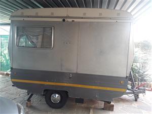 Vintage 1967 Campride Folding Caravan