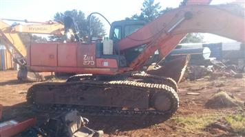 Hitachi ZX270 stripping for spares
