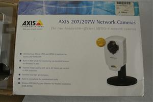 AXIS 207W WIFI IP Network Camara