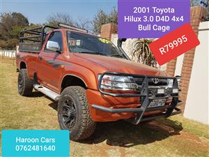 2001 Toyota Hilux single cab HILUX 2.8 GD 6 RB RAIDER P/U S/C