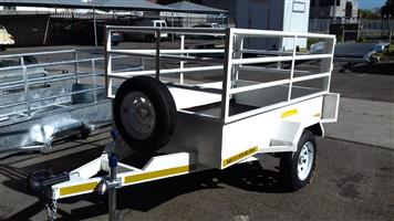 WE BUILD ALL TYPES OF TRAILERS ...............