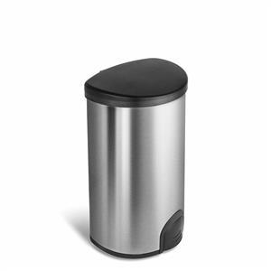 NineStars 50L Automatic Tap Sensor Stainless Steel Kitchen Dustbin