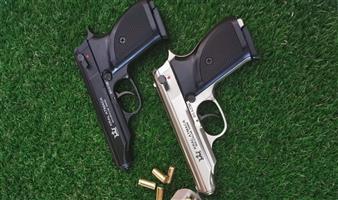 Atmaca blank pistol OR Atmaca satin nickle.
