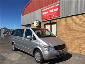 2010 Mercedes Benz Vito 115 CDI 2.2 crew bus automatic