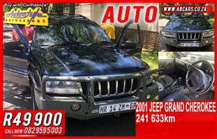 2001 Jeep Grand Cherokee 3.6L Limited