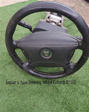 Jaguar S-Type 2002 Steering Wheel Columb