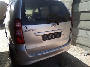 2010 Toyota Avanza AVANZA 1.5 TX