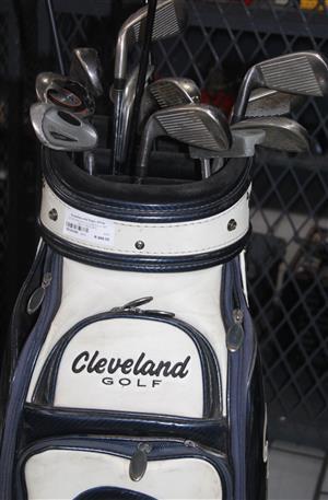 S034238A Citation golf clubs full set with trolley #Rosettenvillepawnshop