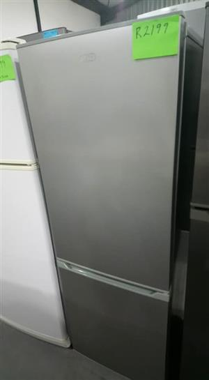 Silver Defy fridge