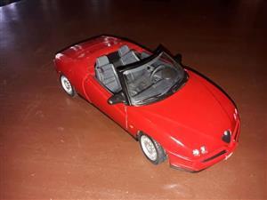 Red Alfa model car for sale