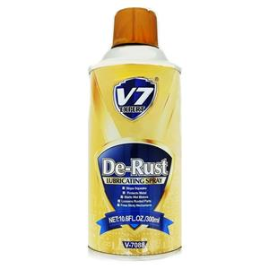 V7 DE-RUST LUBRICATING SPRAY 300ML