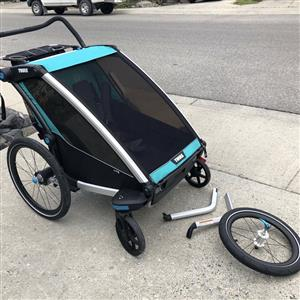 Thule Chariot Lite 2 with lots of extras