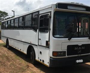 2002 MAN EXPLORER 65 Seater bus for sale. Excellent condition. Price is negotiable