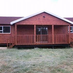 ALECK LOG HOMES & WENDY PROJECT