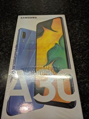 Samsung A30 new sealed 64gb 4g ram