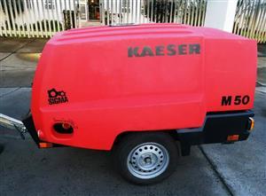 2018 Kaeser 185CFM Mobile Diesel Compressor - 142hrs