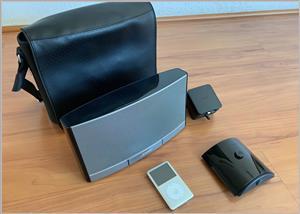 Bose SoundDock Portable 30-Pin iPod/iPhone Speaker Dock plus ipod 160 gb