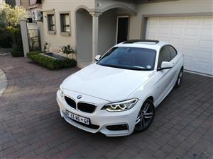 2014 BMW 2 Series 220i coupe M Sport auto