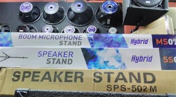 Speaker Stands & Mic Stands