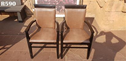 2 Classic Dining Chairs