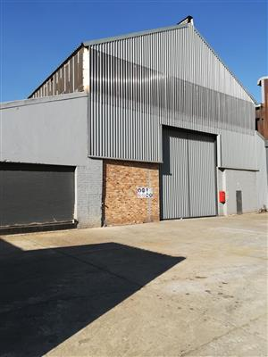 5 000m2 warehouse to let in Boksburg East