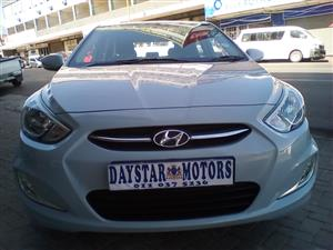 2015 Hyundai Accent sedan 1.6 Fluid