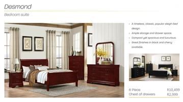 PERILLI Desmond Bedroom Suite