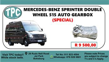 Mercedes-Benz Sprinter Double Wheel 515 Auto Gearbox - For Sale at TPC