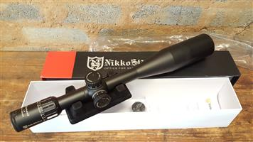 New Nikko Stirling Diamond Long Range 10-40×56 Illuminated Half Mil Dot Riflescope