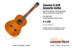 Yamaha G-228 Acoustic Guitar