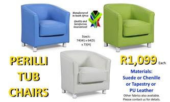 PERILLI TUB CHAIRS - Awesome Offer!