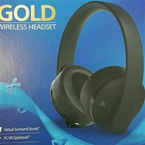 Playstation 4 Gold Series Wireless Headset