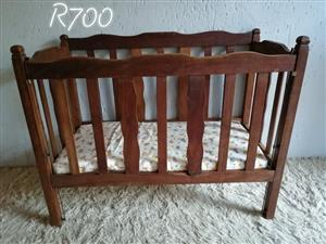 Antique Wooden Crib