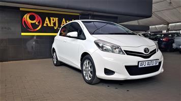 2014 Toyota Yaris 5 door 1.3 XS auto