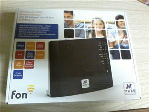 Mweb-N VDSL Modem/Router with 3G