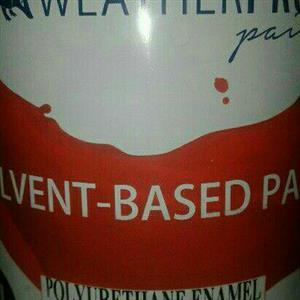 Black polyurethane paint 1l