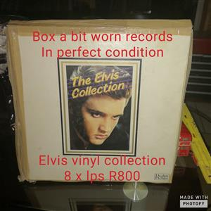 Elvis Presley LP Collection