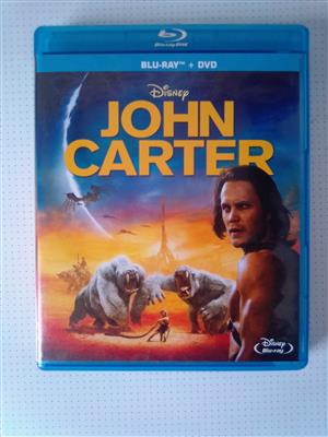 """Blu-ray DVD Movie """"John Carter"""" Two disc edition (Blu-ray and DVD). As well as other Movies and Music Blu-ray DVD's R60 each. Please WhatsApp me for List of them. I am in Orange Grove."""