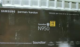 Samsung Harman Kardon HW-N950 Virtual 7.1.4-Channel Soundbar System with Dolby Atmos