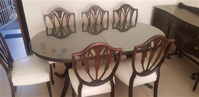 Classis 8 Seater Dining Room Suite with Sideboard