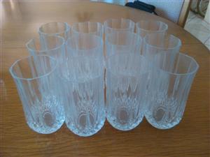 Crystal d Arc highball glasses