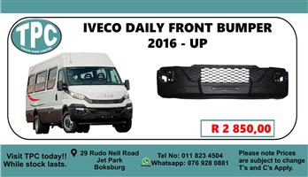Iveco Daily Front Bumper 2016 - up - For Sale at TPC.